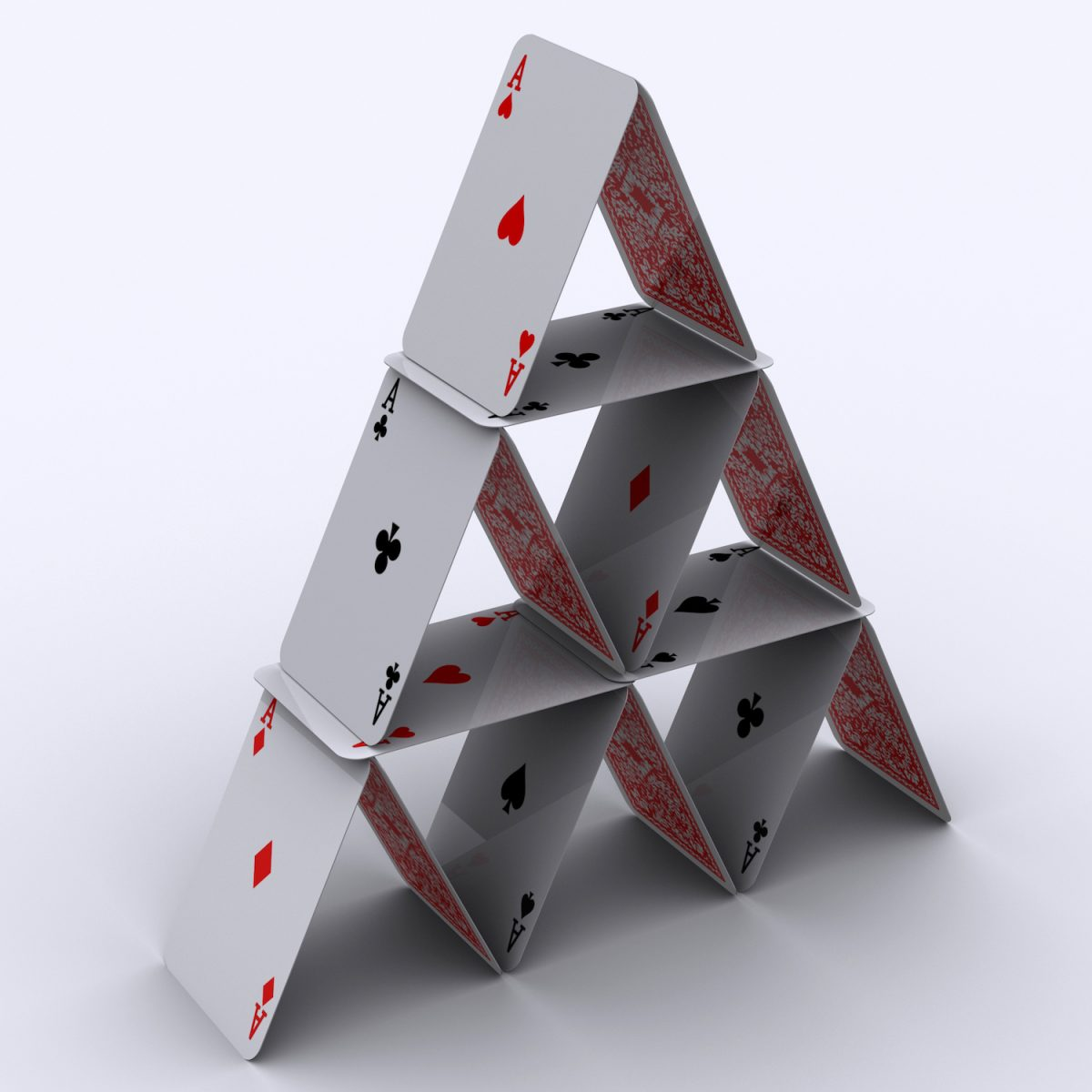 Pyramid or House of Cards