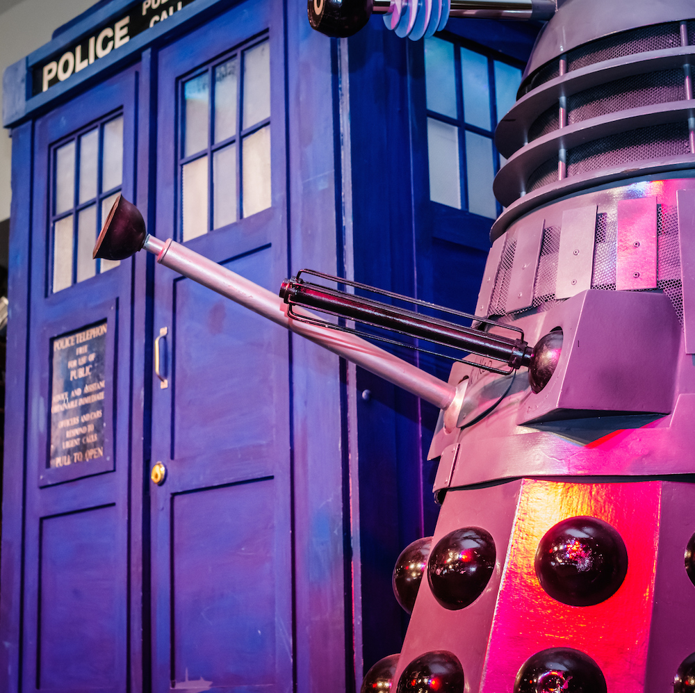 Rescuing Doctor Who's K-9