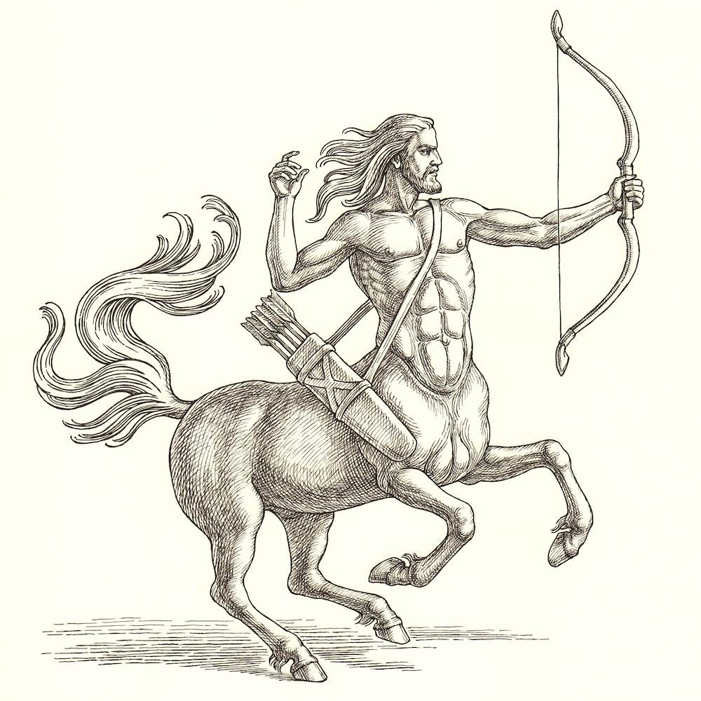 Centaur Produces Nine-Headed, Two-Species Monster