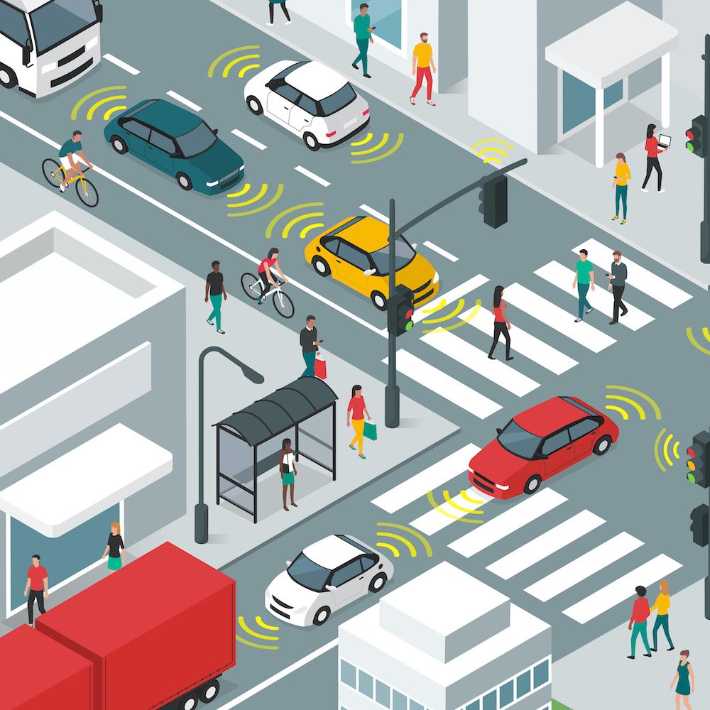 Automotive Cameras Avoid the Pedestrian