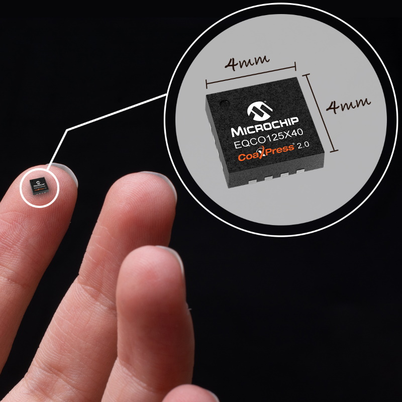 Microchip's New CoaXPress 2.0 Chips Speed Machine Vision