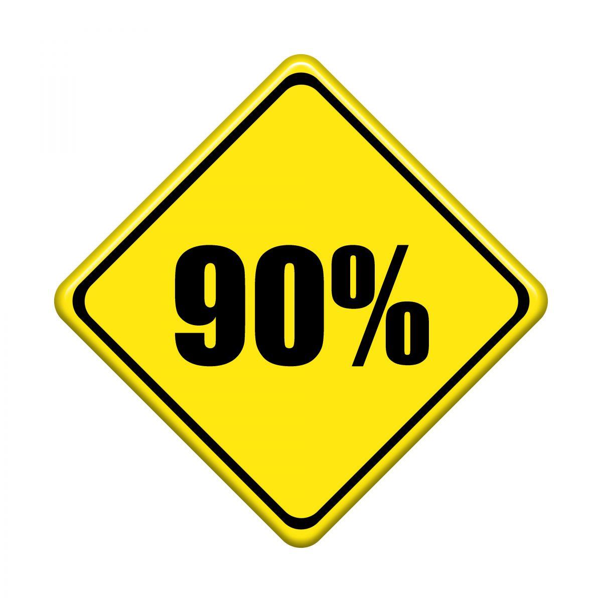 The 90 Percent Trap